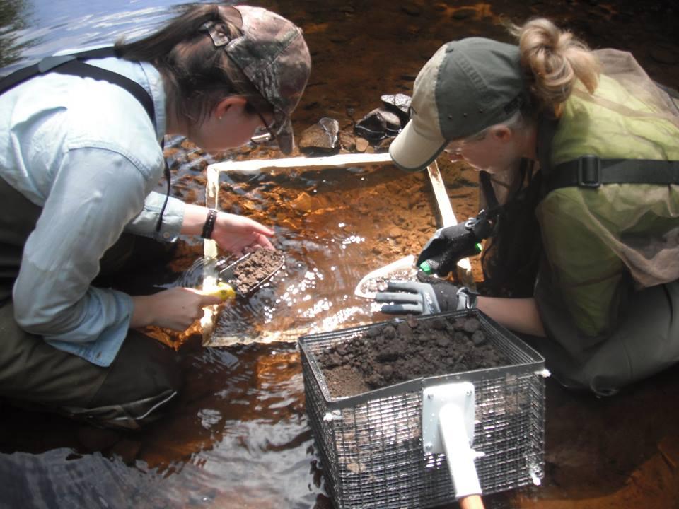 Des membres de l'Association des pêcheurs récréatifs du Sud-Est à l'oeuvre. - Gracieuseté
