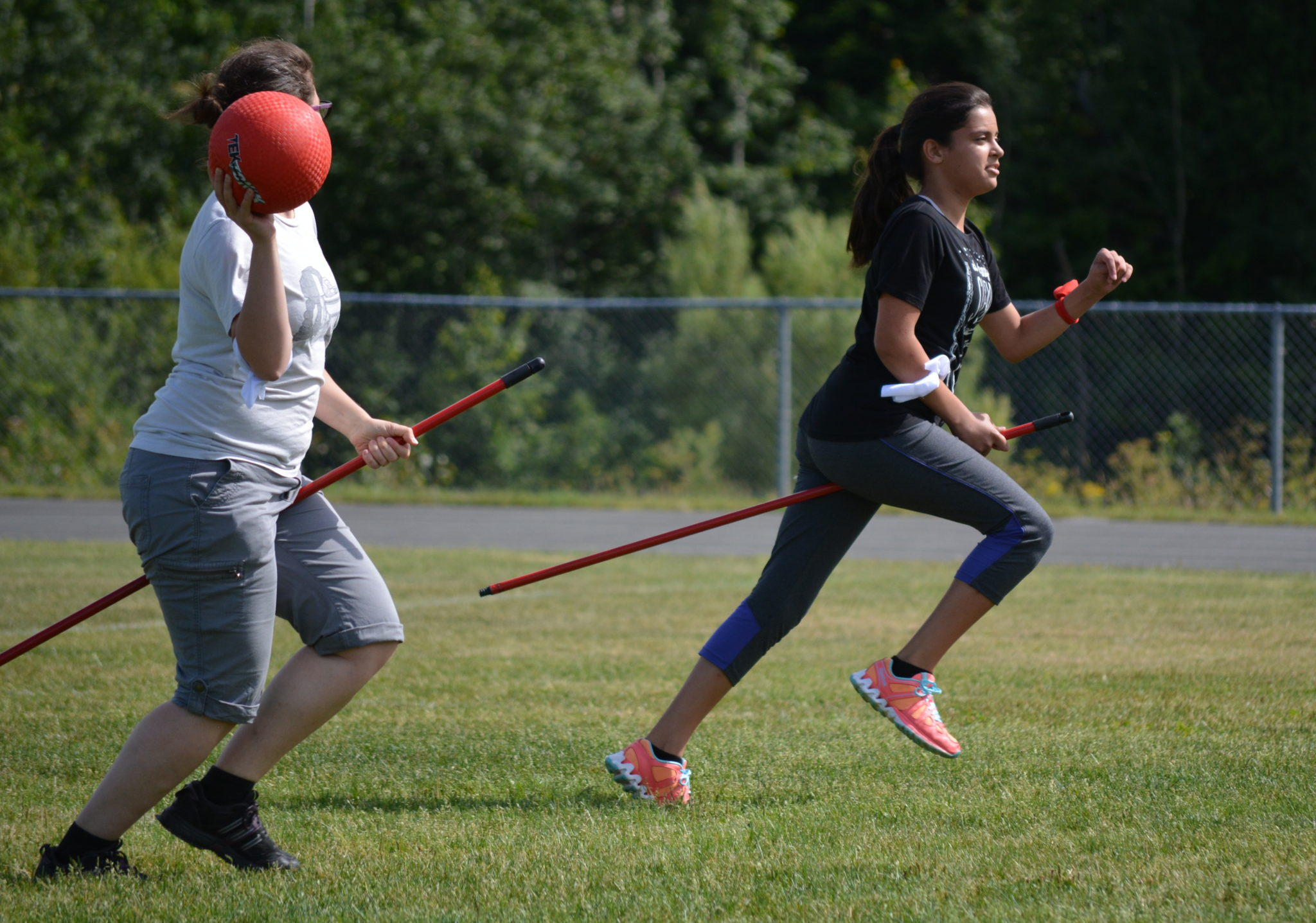 A game of Quidditch at Campbellton as a nod to the latest Harry Potter (video)