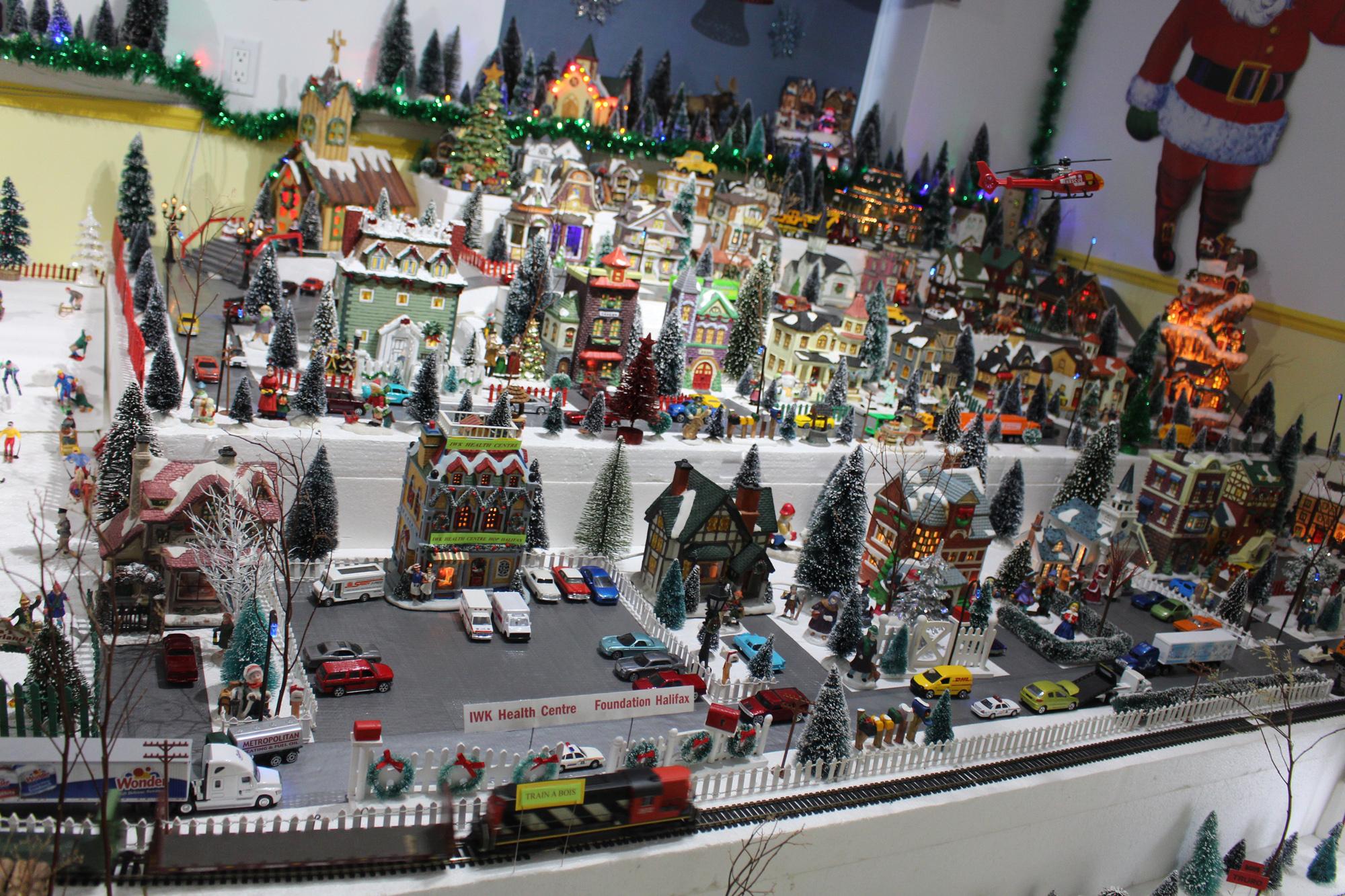 Village De Noel Miniature A Vendre Village de Noël à vendre!